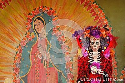 A day of the dead Figure, Día de los Muertos