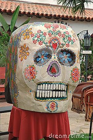 Day of the dead mask, Día de los Muertos