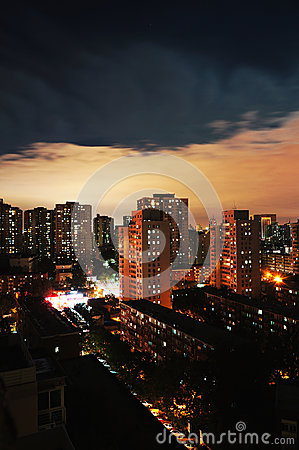 Day and night, Beijing