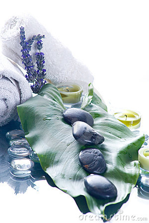 Free Day Spa With Flowers Candles Royalty Free Stock Photo - 8840845