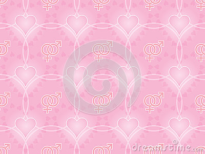 Day of Valentine pattern