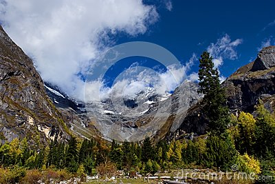 Day view of highland at Sichuan Province China