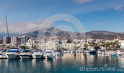 Day view of Puerto Marina