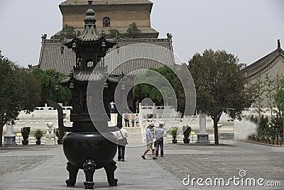Dayan pagoda Editorial Stock Image