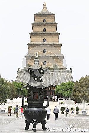 Dayan pagoda Editorial Image