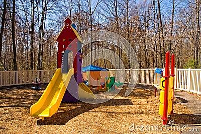 Daycare playground equipment