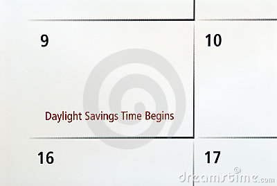 Daylight Savings Begins