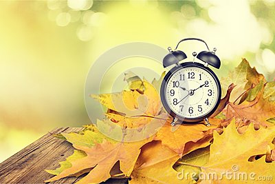 Daylight Savings Time Stock Photo