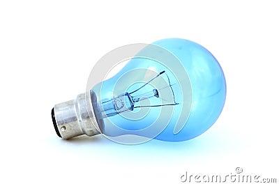 Daylight simulation bulb, isolated on white