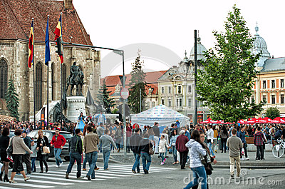 The Days of Cluj Napoca Festival 2013 Editorial Photography