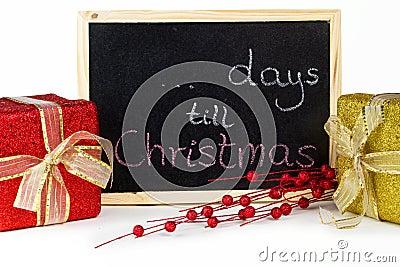 ... days till Christmas