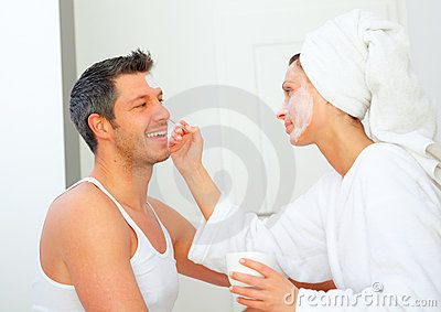 Dayspa wellness couple