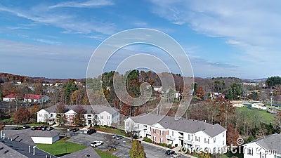 Day Aerial Establishing Shot Pennsylvania Apartment ...