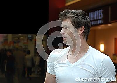 Daytime Soap Actor, Daniel Goddard Editorial Stock Image