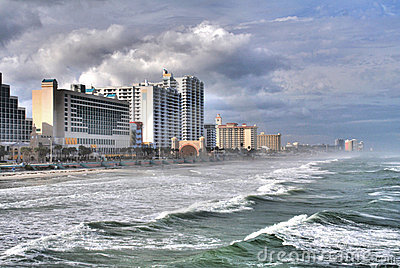 Daytona Beach Surf and Skyline
