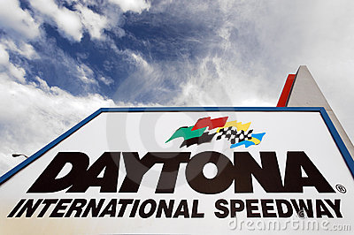 Daytona International Speedway Editorial Image