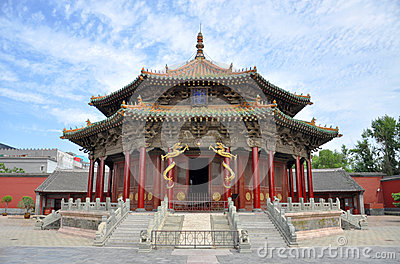 Dazheng Hall, Shenyang Imperial Palace, China