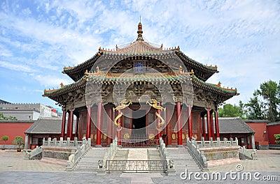 Dazheng Hall, Shenyang Imperial Palace, China