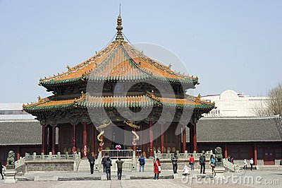 The Dazheng Hall Editorial Stock Photo