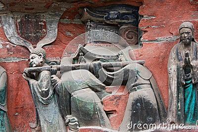 Dazu Bao Ding Mountain Rock Carvings