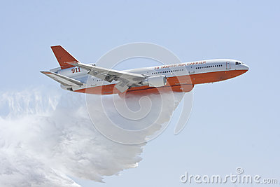 DC 10 Tanker Air Carrier Editorial Stock Photo