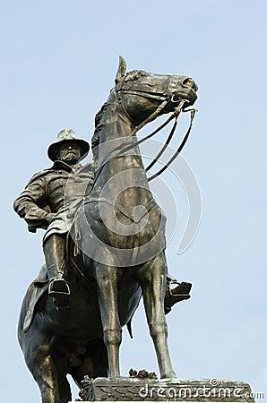Dc dotaci s statua Ulysses Washington