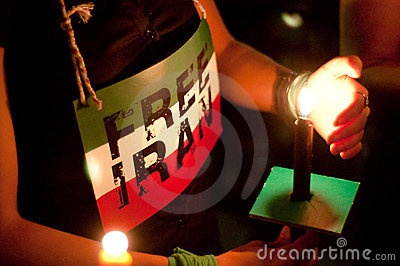 DC Vigil for Iran Editorial Photo