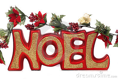 D coration de no l de noel image libre de droits image 17456006 for Photo de decoration