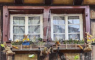 Décoration de Pâques Photo éditorial
