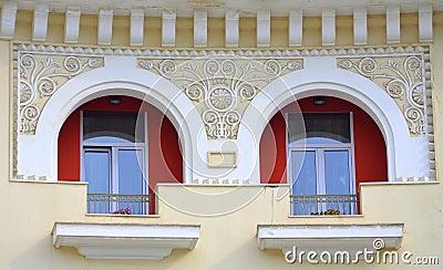 d coration grecque de maison photo stock image 45332545. Black Bedroom Furniture Sets. Home Design Ideas