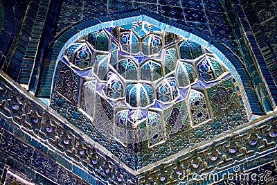 Décorez dans la mosquée