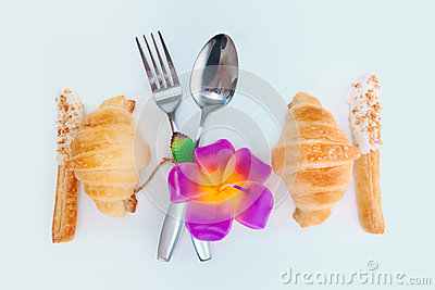 Décorez la conception de nourriture pour l amour