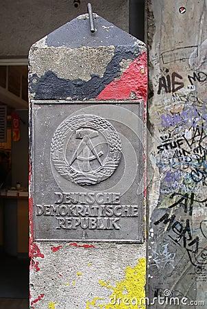 DDR sign