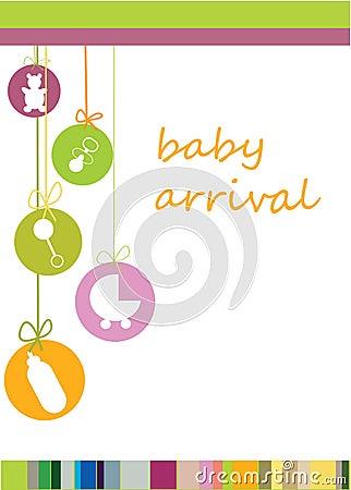 De aankomst van de baby