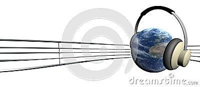 De aarde en stemt
