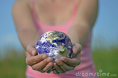 De aarde is in uw handen