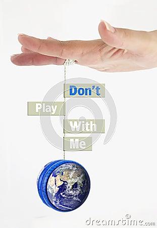 De aarde van de besparing