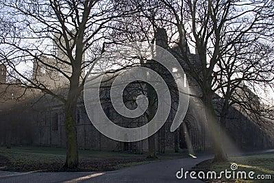 De Abdij van Kirkstall, Leeds, West-Yorkshire