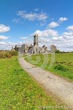 De abdij van Quin