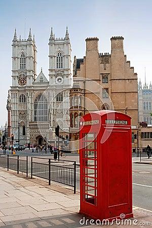 De Abdij van Westminster. Londen, Engeland