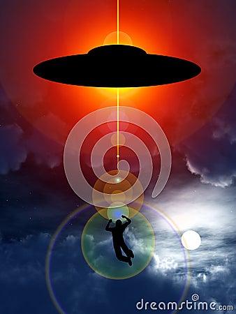 De Abductie van het UFO