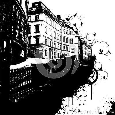 De abstracte Stad