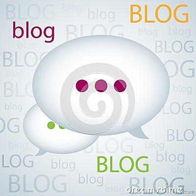 De achtergrond van Blog