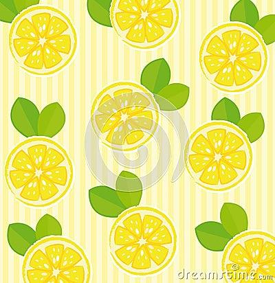 De achtergrond van de citroen