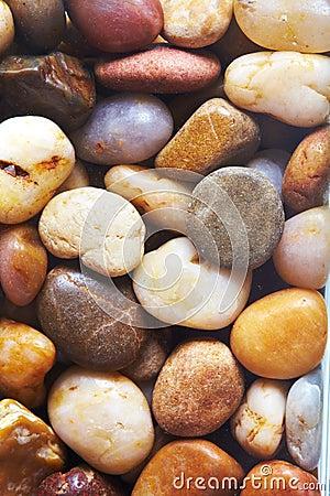 De achtergrond van de steen