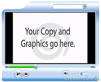 De Achtergrond van de videoSpeler