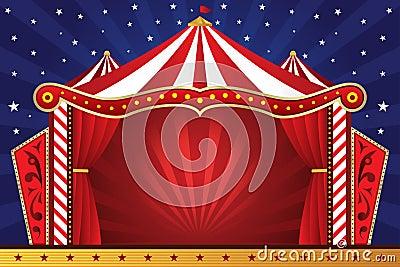 De achtergrond van het circus