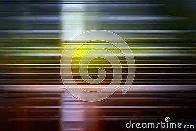 De achtergrond van het snelheidsonduidelijke beeld