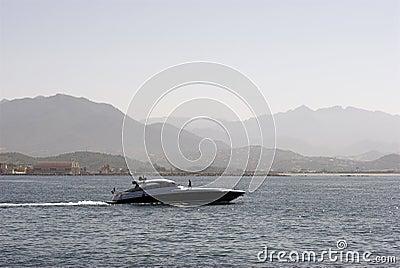 Motorbootactie