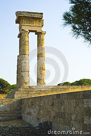 De Akropolis van Rhodos
